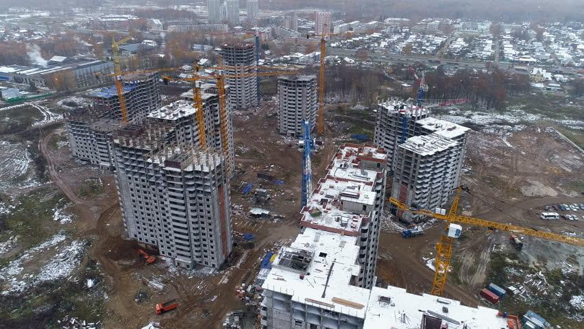 A new residential building block near city suburbs.  #33005542
