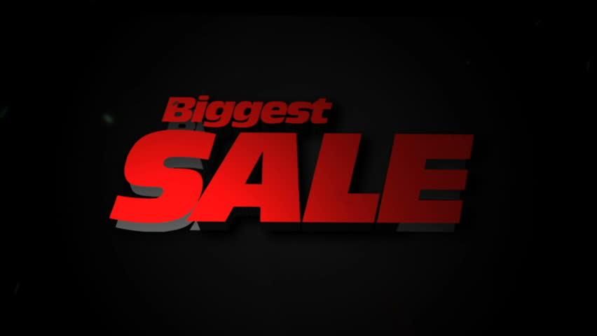 Biggest Sale Intro | Shutterstock HD Video #33022762