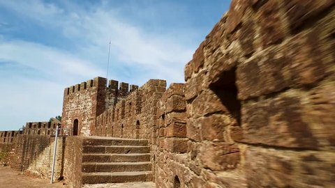 4k - The ancient medieval Silves Castle.  This fortress in the Algarve region of Portugal was built by the Moorish Caliphate when the Moors ruled Iberia.