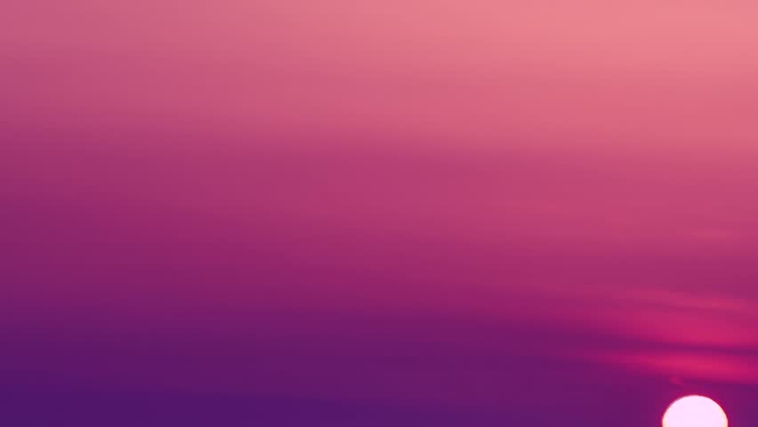 Sunset evening, beautiful colour sunset clouds, a time lapse of the large orange summer soft mass as the massive into the horizon.   Shutterstock HD Video #33079372