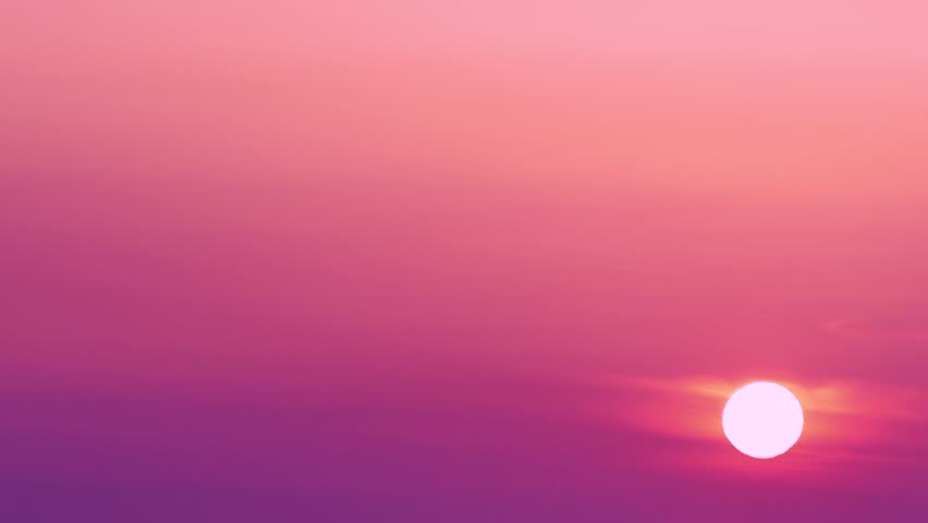 Sunset evening, beautiful colou sunset clouds, colour sky in sunset time. A time lapse of the large orange sun set as the massive sun sets into the horizon,Red purple orange blue pink sunset sky cloud | Shutterstock HD Video #33079372