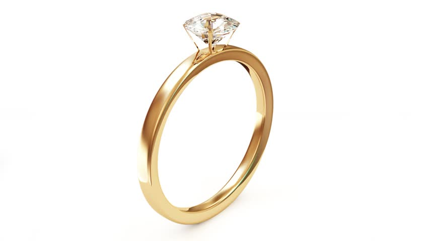Gold Ring With Diamond Gem Jewelry Luxury Jewellery Bijouterie