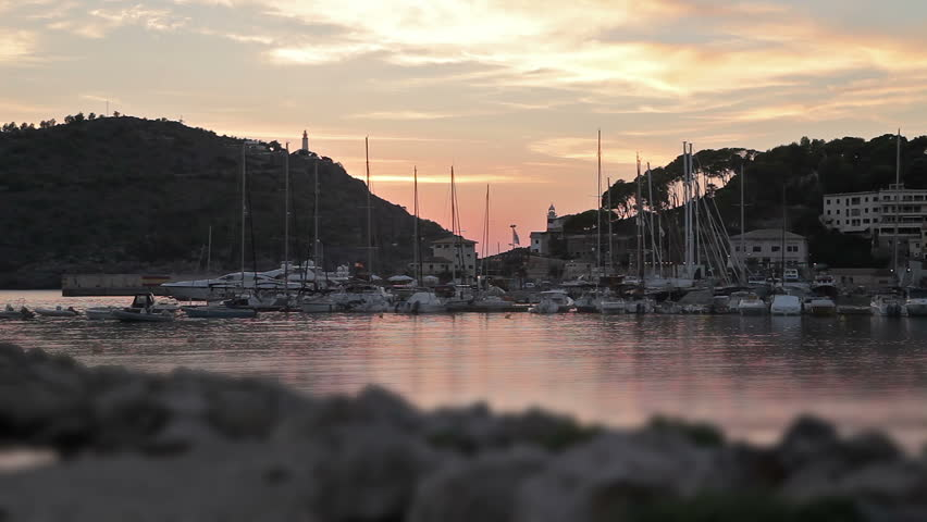 Resort town Port de Soller | Shutterstock HD Video #33179116