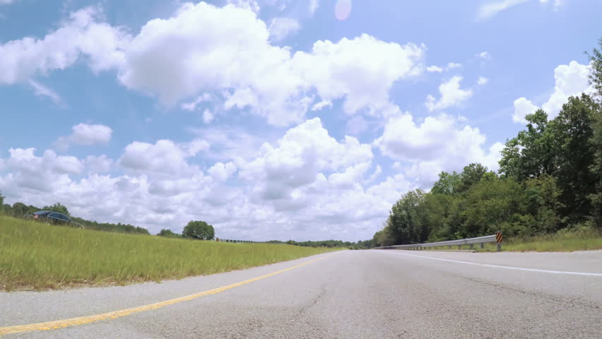 POV point of view - Driving to East Coast on cross-country road trip.   Shutterstock HD Video #33232072