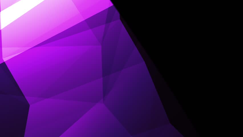 Abstract cg polygonal Violet surface. Geometric poly triangles motion background. | Shutterstock HD Video #33287482