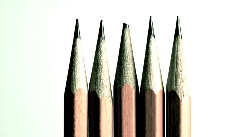 Header of pencil lead