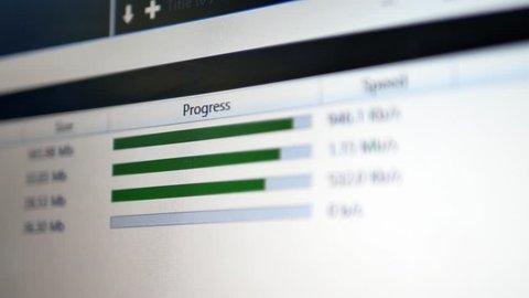 Download or upload files