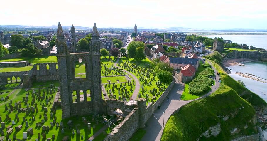 St Andrews Aerial Scotland