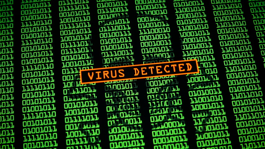 Computer virus - Warning message | Shutterstock HD Video #33775702