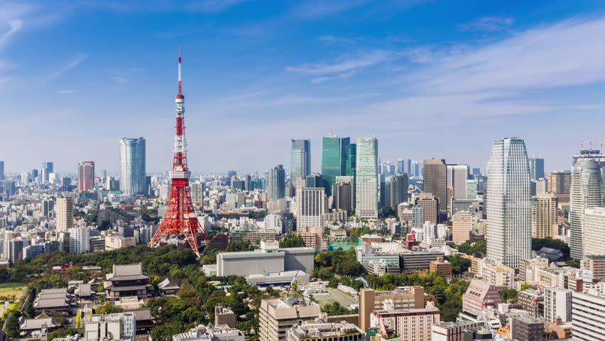 Timelapse tokyo tower and skyline ,Japan | Shutterstock HD Video #33777076