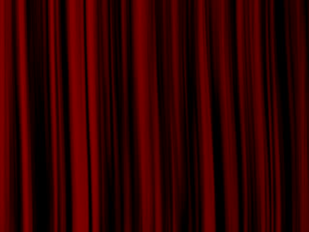 Red Curtains   SD Stock Footage Clip