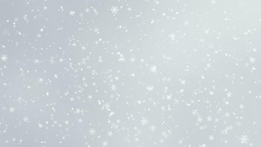 4K Falling Snowflakes loop | Shutterstock HD Video #33836512