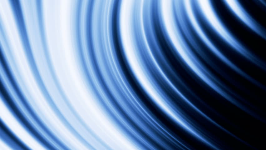 Animation of an abstract glowing background, blue tint