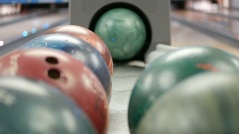 Bowling Ball out of Ball Return