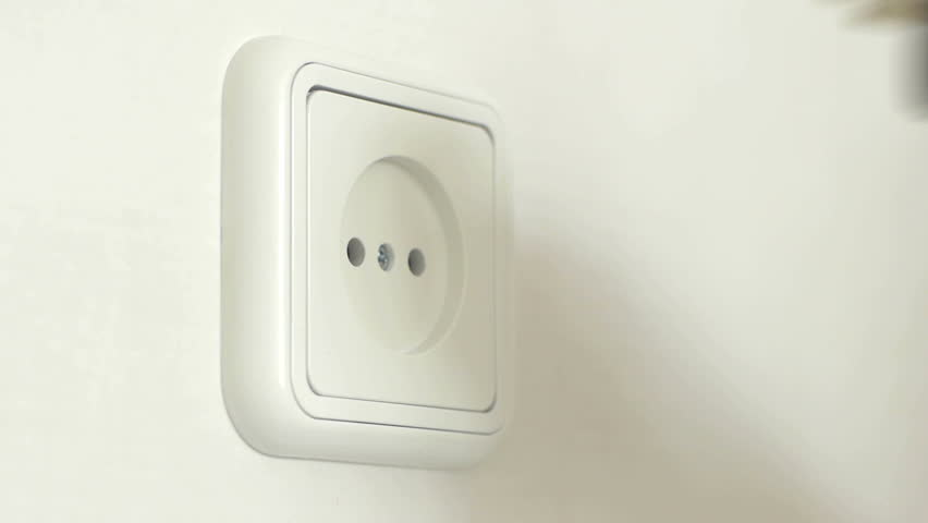 Turn on and off electrical plug
