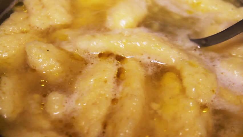 Homemade Soup With Dumplings, Mixing #34124512