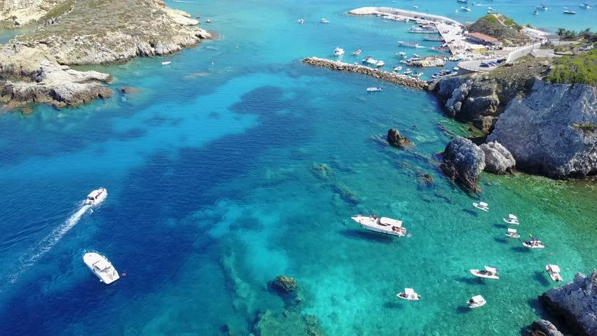 Tremiti Island seen by a Drone