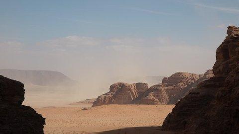 desert in Wadi Rum