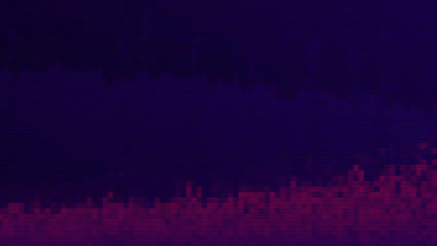 Unique Design. Abstract Digital Animation. Pixel Noise Glitch Error Video Damage | Shutterstock HD Video #34582462