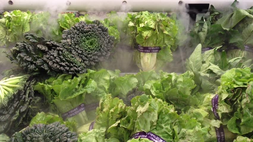 fresh vegetable in super market