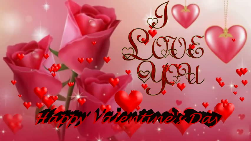 Animated Valentine's Day Greeting with Stock Footage Video (100%  Royalty-free) 34657852 | Shutterstock