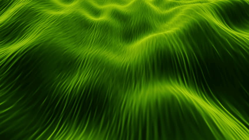 Video Background 2281: Abstract fluid forms pulse, ripple and flow (Loop).