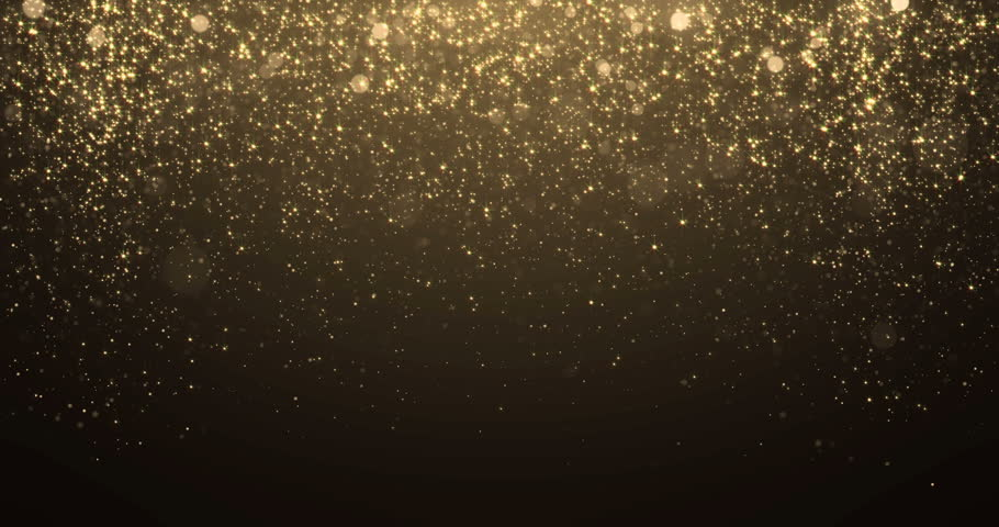 Gold glitter background with sparkle shine light confetti effect. #34698532