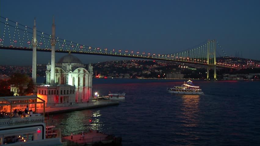 Turkey.Istanbul.Ortakoy.Bosphorus.