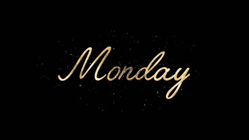 Header of Monday