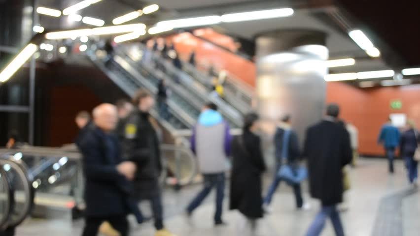 Subway of Madrid | Shutterstock HD Video #3496382