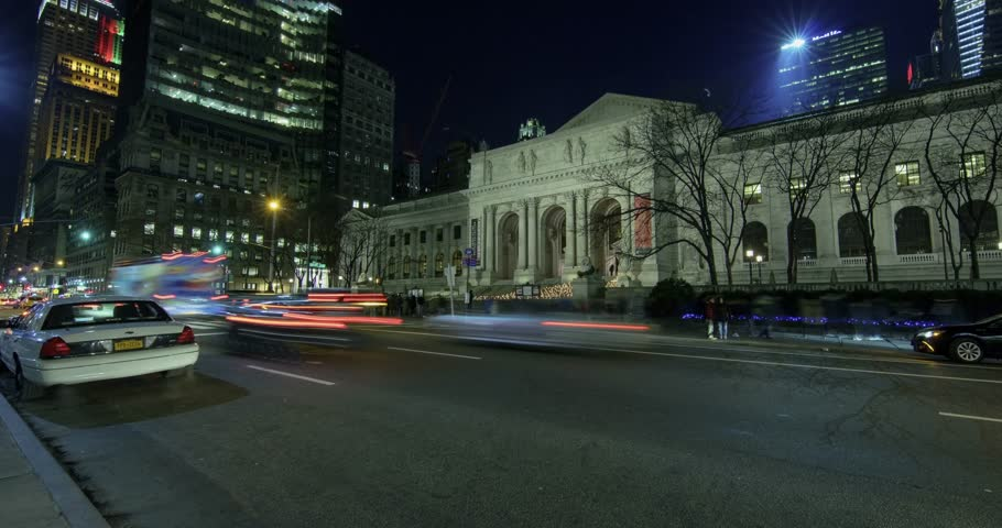 New York City time lapse.   Shutterstock HD Video #34983985