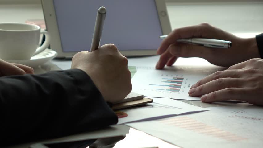 Business meeting in office. | Shutterstock HD Video #34984447
