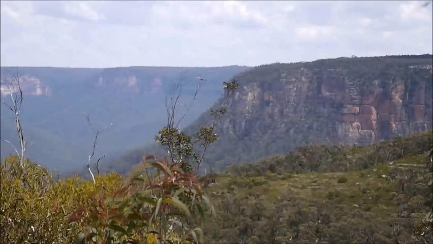 Lookout in the Blue Mountains, Australia | Shutterstock HD Video #3522137