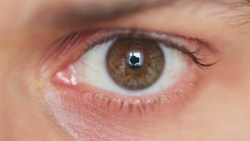 Eye close up | Shutterstock HD Video #3525437