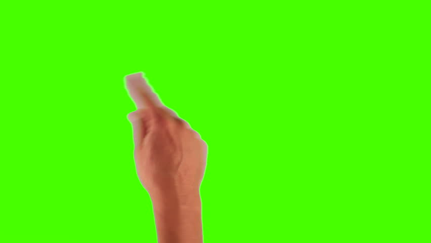modern touch screen gestures in 1080p, 1920x1080 showing the uses of a tablet pc or ipad on a green screen. different gestures included.