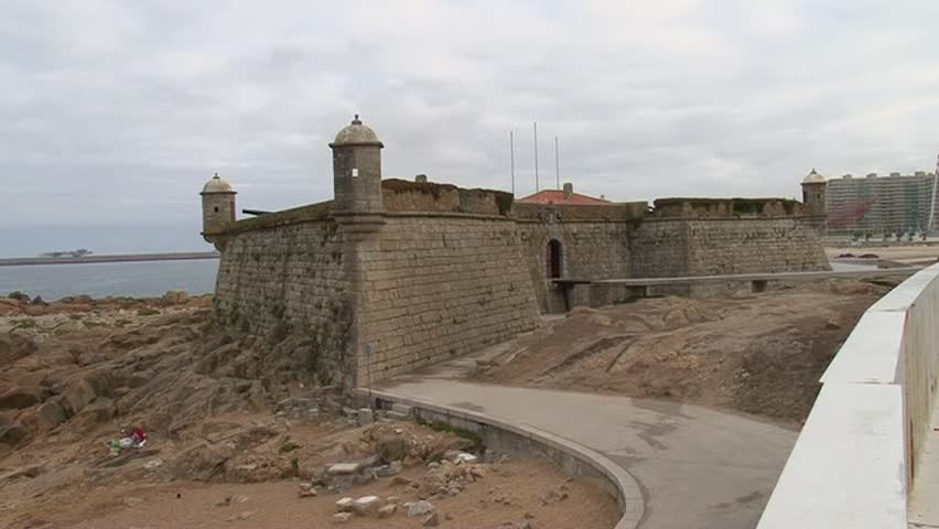 Castelo do Queijo or Castle of the Cheese or Forte de Francisco Xavier in Porto, Portugal