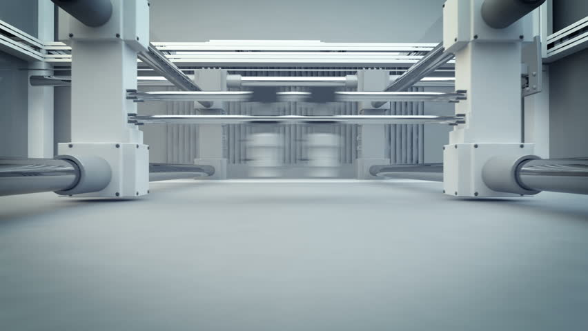 3D Printing (Additive Manufacturing) is turning the impossible into the possible. 3d animation of working 3d printer.   Shutterstock HD Video #3633215