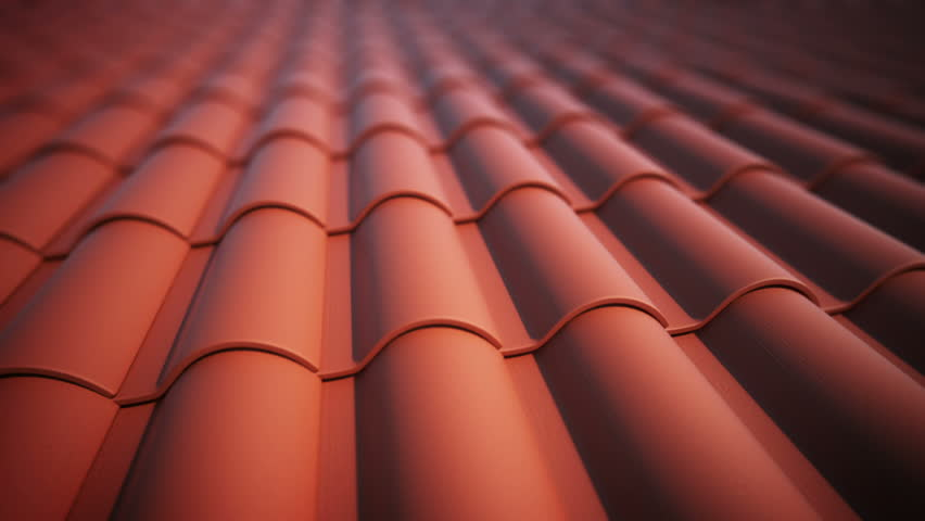Roof tiles loopable animation.