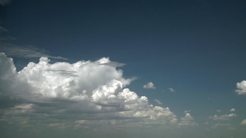 Anvils are Born. Anvil outflow aloft is fed by low level inflow of moisture in strongly sheared atmosphere