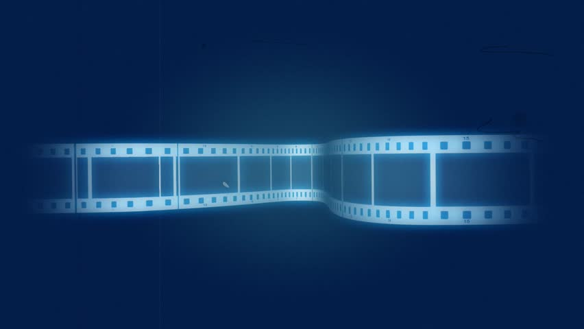 Blue Film Cells Background Stock Footage Video 100 -9226