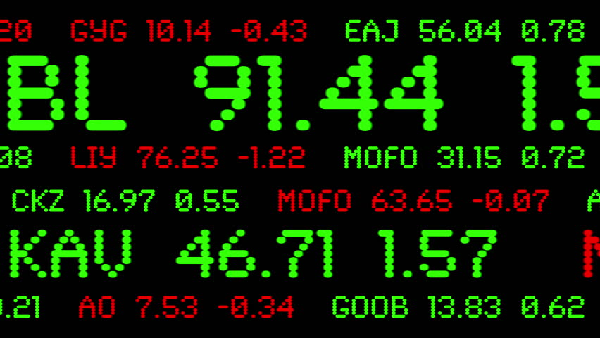 Ticker Numbers Stock Video Footage 4k And Hd Video Clips