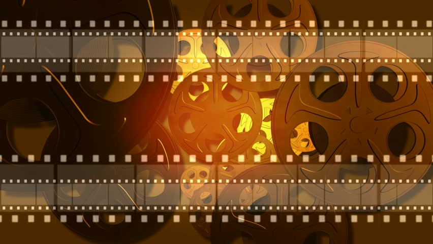 Film Reel Animated Background Stock Footage Video 100 Royalty Free
