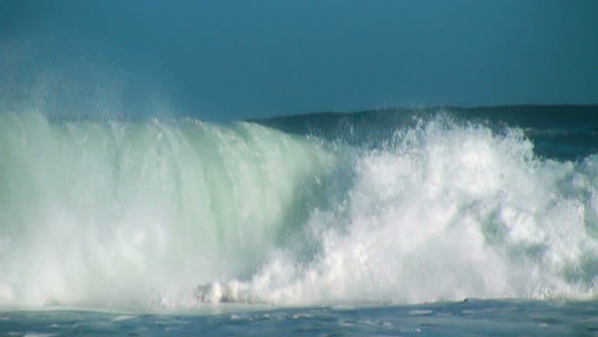 Ocean slow motion | Shutterstock HD Video #3718922