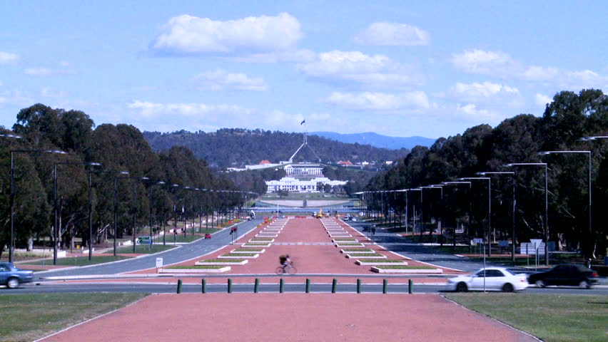 Time lapse of Capital Hill, Canberra, Australia
