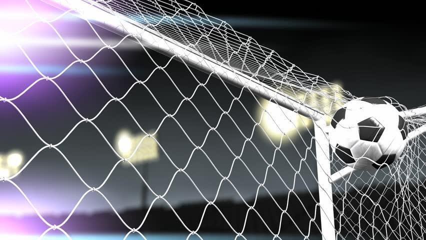 Soccer goal scored. #3744212