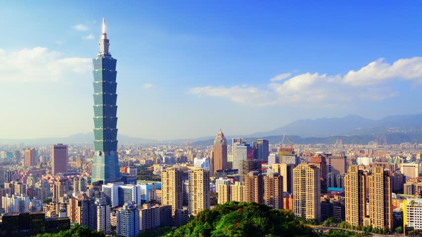 Taipei, Taiwan timelapse