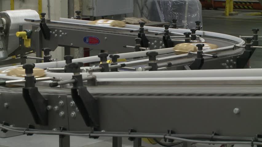 Product On Conveyor Conveyer Belt Stock Footage Video (100% Royalty-free)  3783452 | Shutterstock