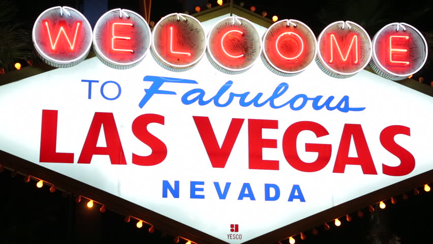 Welcome to Las Vegas sign | Shutterstock HD Video #3791042