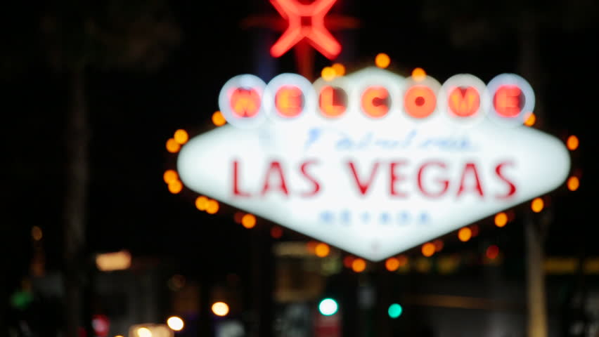 Welcome to Las Vegas sign | Shutterstock HD Video #3791102