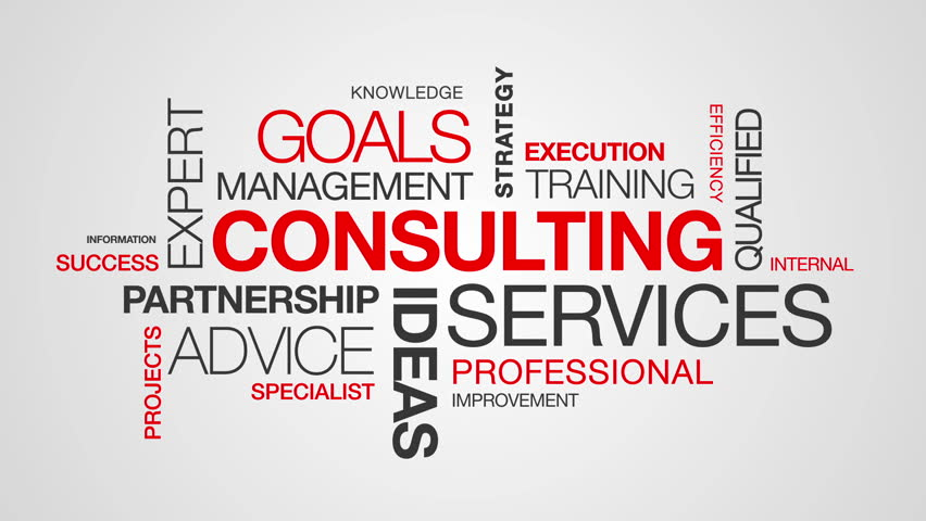 Consulting Word Cloud Animation | Shutterstock HD Video #3793682